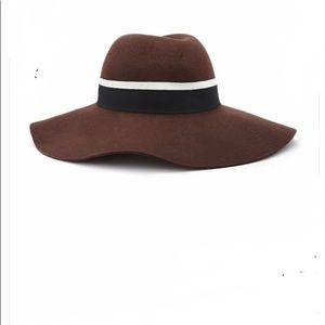NWT Forever 21 Wool Fedora Hat